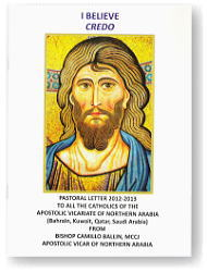 Pastoral Letter: I Believe
